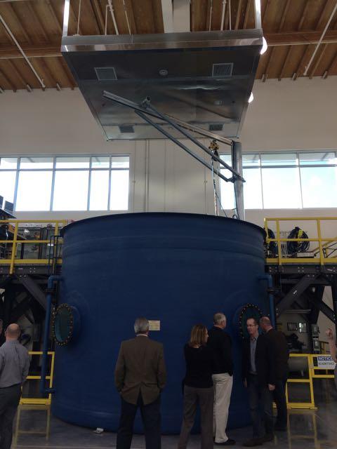 UBC Underwater Welding Tank