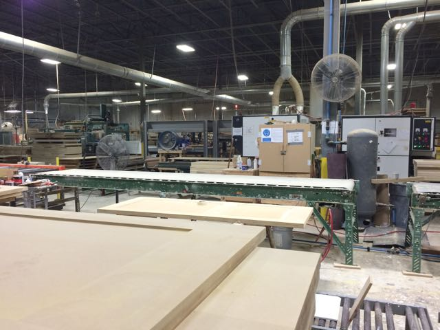 Sanded Supa Doors & USBP tours the Supa Doors manufacturing facility in Universal City ...