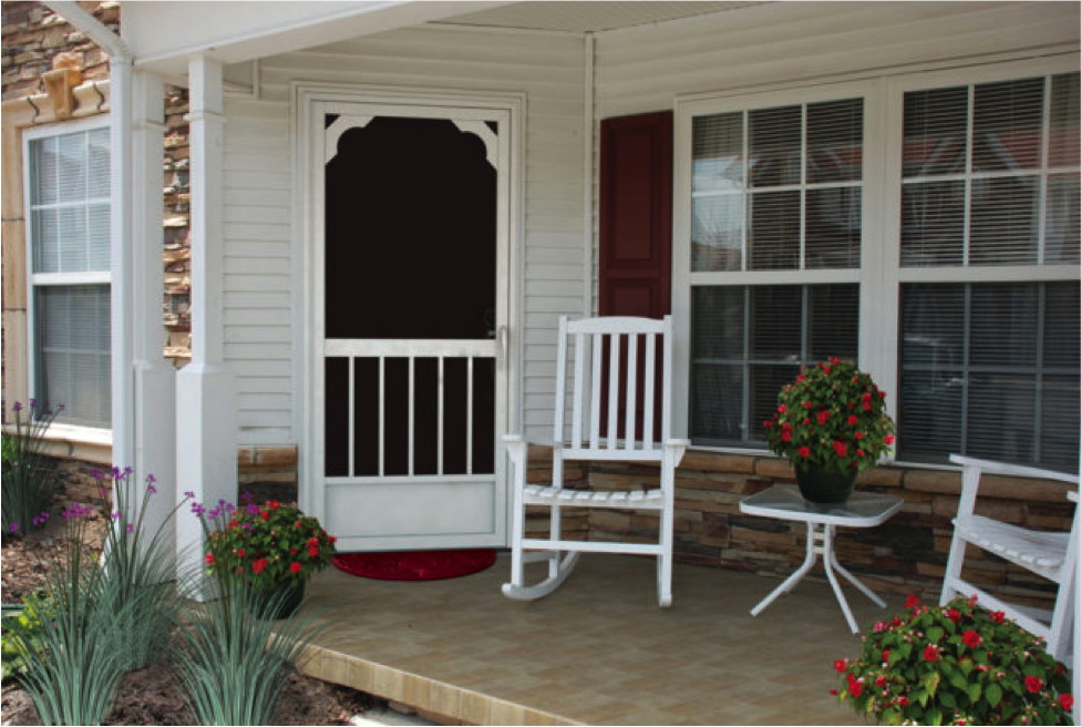 PCA Products Aluminum Screen Door